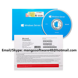 English 64 Bit Microsoft Windows Server 2016 Standard 1pk DSP OEI DVD 2COU / 2VM