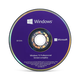 Cina 64 Bit Windows 10 Professional DVD, Windows 10 OEM Kunci Aktivasi Online Untuk Wilayah Global Distributor