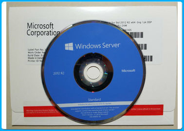 Cina 5 CAL Microsoft Windows Server 2012 R2 2CPU / 2VM FQC P73-6165 Tidak Ada Batasan Bahasa Distributor