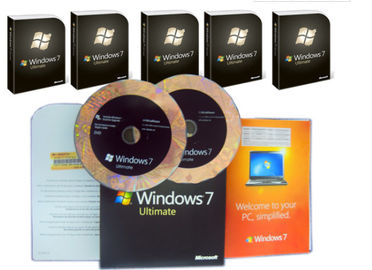 Cina Microsoft Windows 7 Ultimate Edition, Windows 7 Ultimate OEM Pack Untuk Wilayah Global Distributor