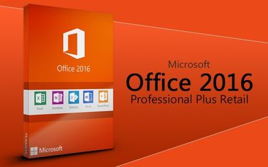 Cina terbaik MS Office 2016 Profesional plus perangkat lunak Office 2016 Pro Plus kartu kunci 2016 office pro plus Kartu kode kunci asli Distributor